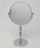 Rho Swivelling Rotating Chrome Vanity Mirror - 01073740